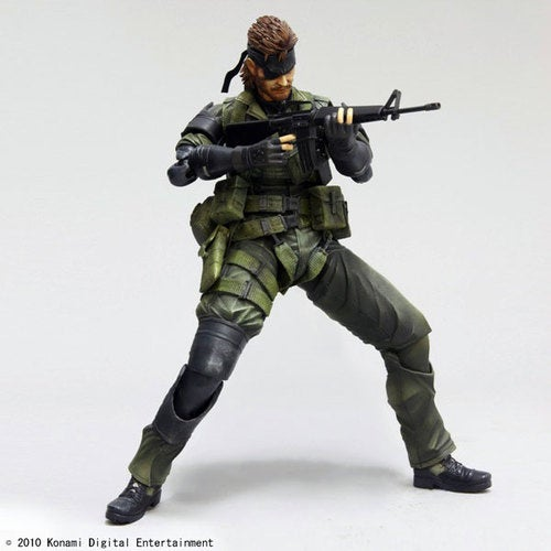 Another Square Enix x Metal Gear Solid Action Figure
