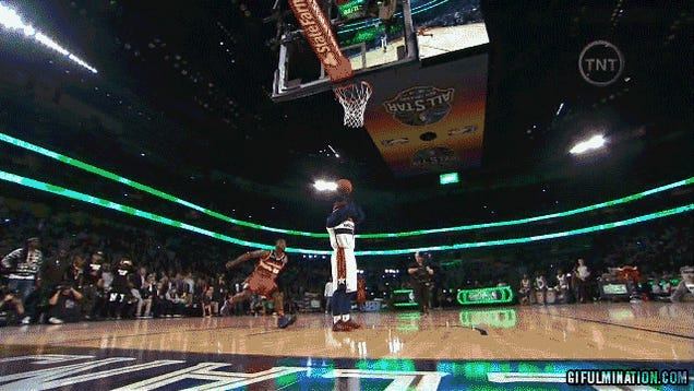 The Slam Dunk Contest Was Hot Garbage