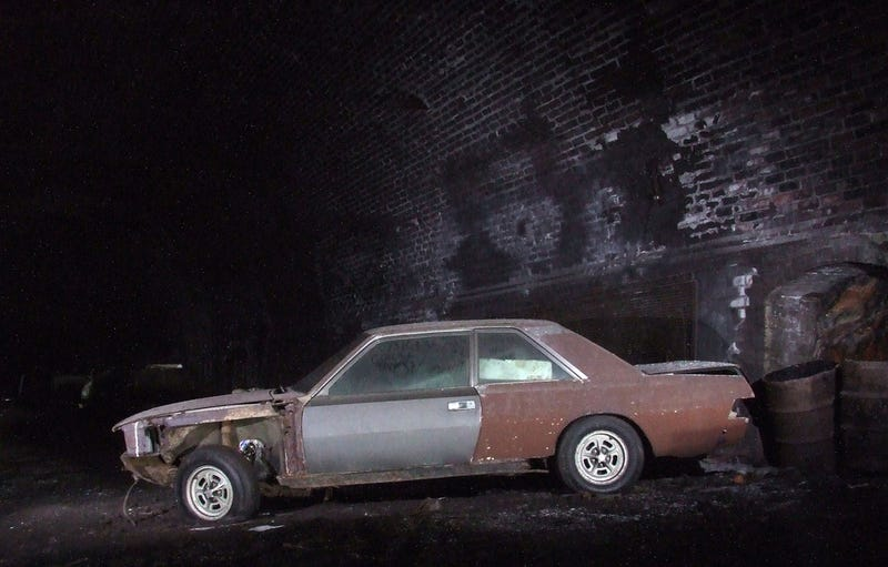 A Collapsed Old Railway Tunnel Hides These Rare Cars