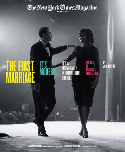 NYT Magazine: How Can A Marriage Be Equal When One Of You Is President?