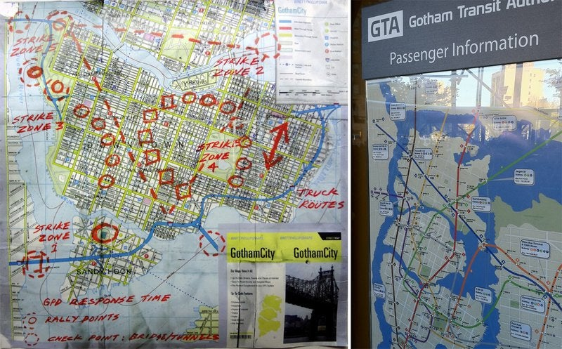 How Gotham City Got Mapped