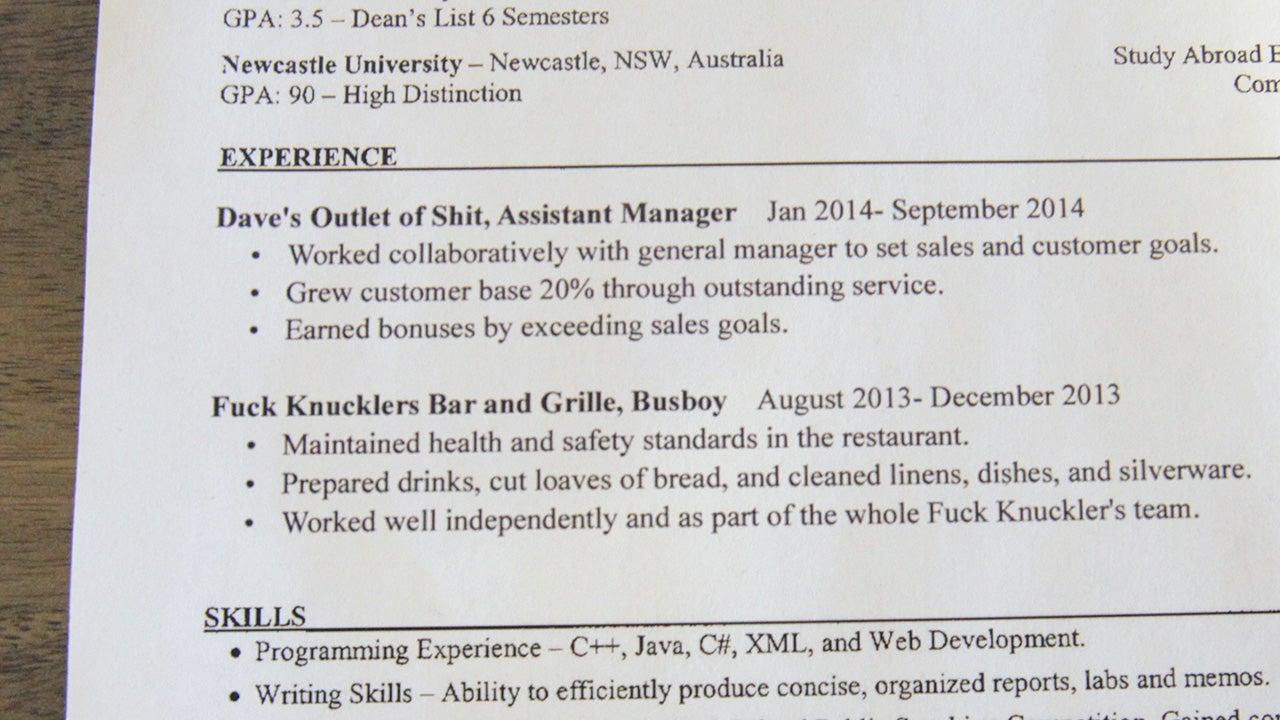 Resume For Teachers Nsw