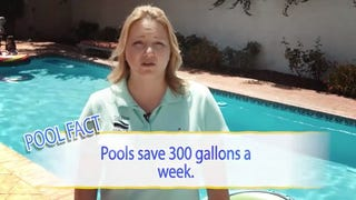 Want to Save Water? Build a Pool, Says the Pool Industry