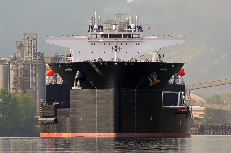 Exclusive Photo: USNS Montford Point, The Navy's New Sea Base