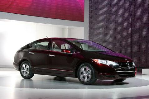 LA Auto Show: Honda FCX Clarity