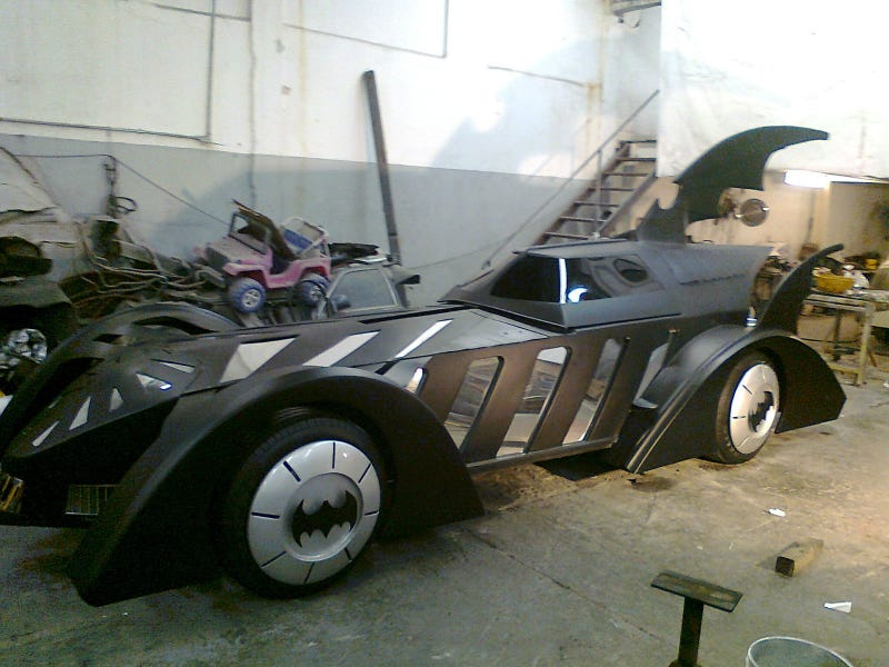 Seven Mustachioed Hombres Built This Epic BatMobile