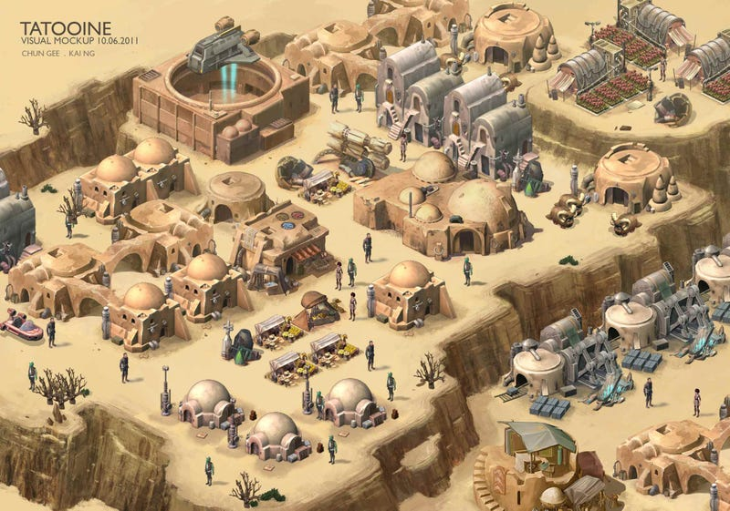 Star Wars Outpost, A Cancelled LucasArts Game, Looked Way Better Than FarmVille