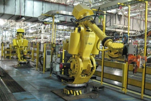 3 Million Square Foot Chrysler Plant For Sale: All Robots Must Go!