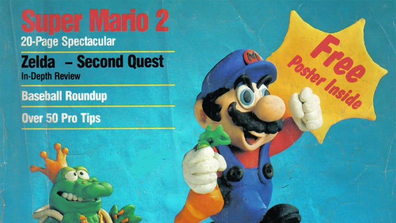 Let's All Read The Very First Issue of Nintendo Power