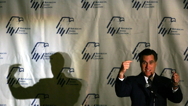 Mitt Romney Pledges His First Trip as President is to Israel