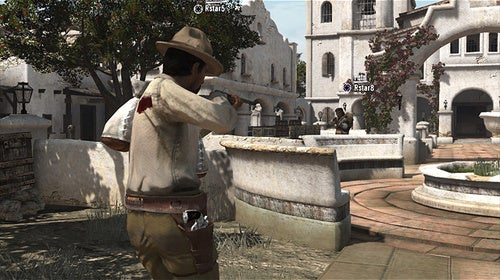 Looks Like We Got a Mexican Standoff Here in Red Dead Redemption