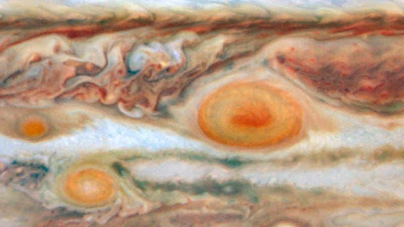 Can we explain Jupiter's Red Spot using solitons?