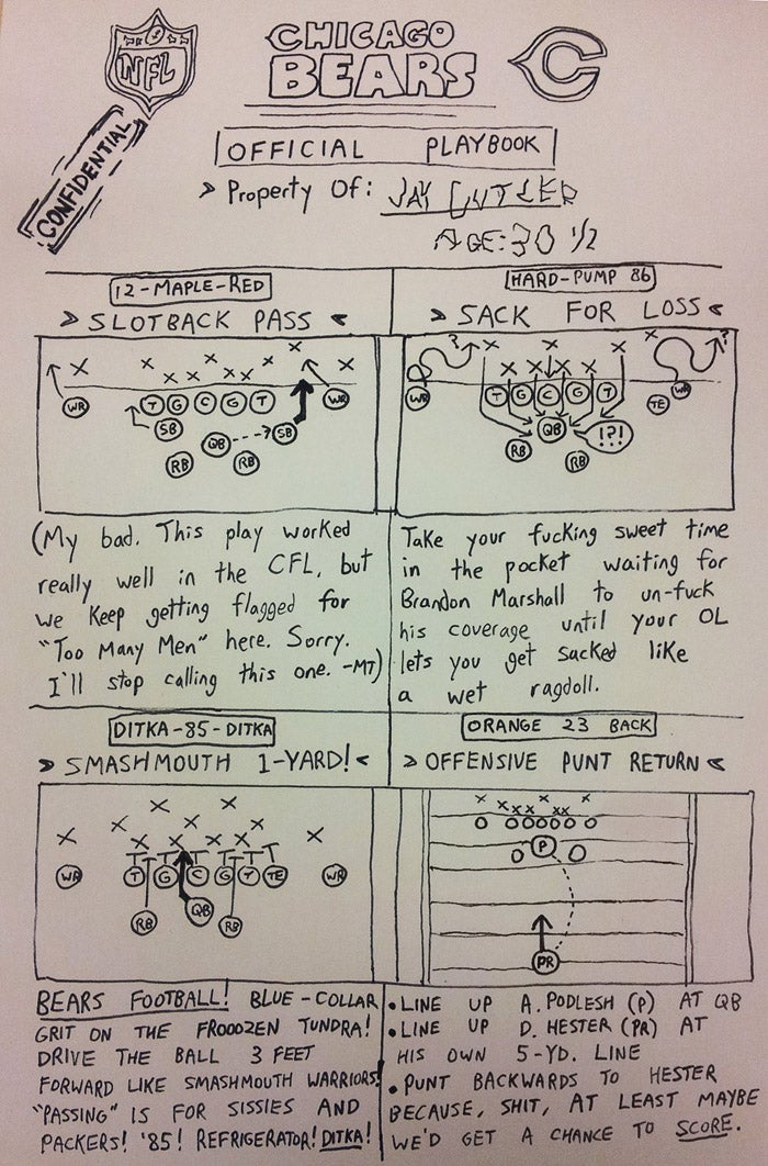 More Illustrated NFL Playbook Fun