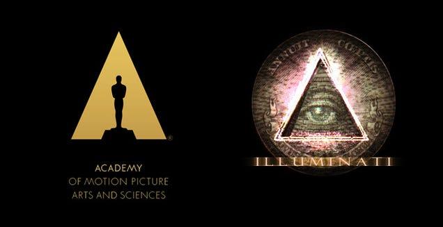 The New Oscars Logo Is Illuminati Catnip