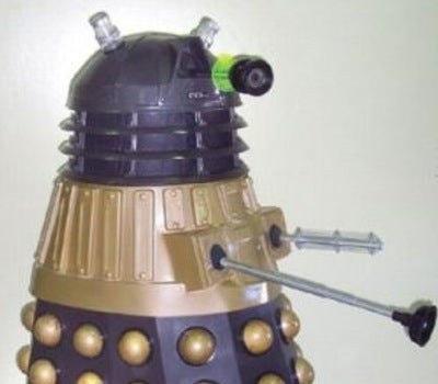 Ride Around In Your Own Criminal-Built Dalek