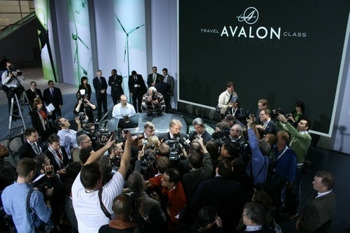 Somewhere Under This Media Frenzy Is The New Toyota Avalon