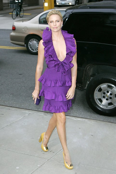 Charlize Theron Is No Shrinking Violet