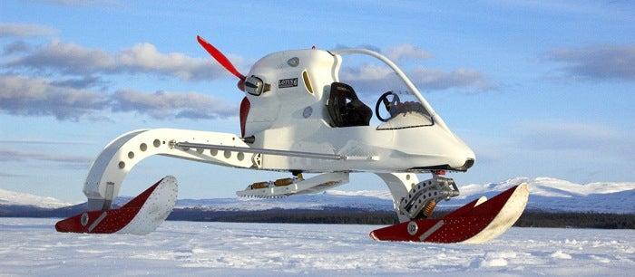Explore Antarctica with Lotus' Concept Ice Vehicle