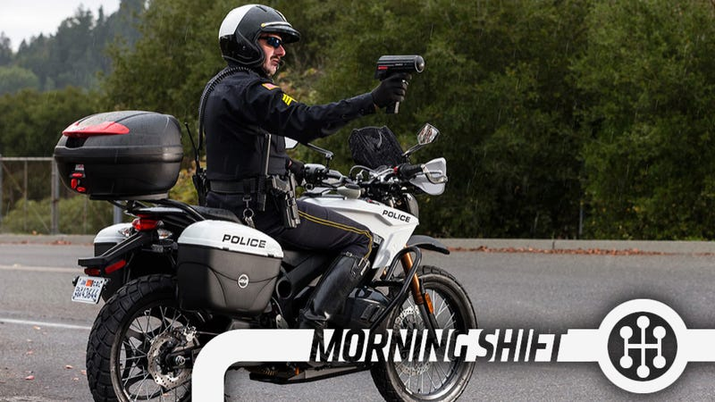 Watch Out For Cops On Electric Motorcycles