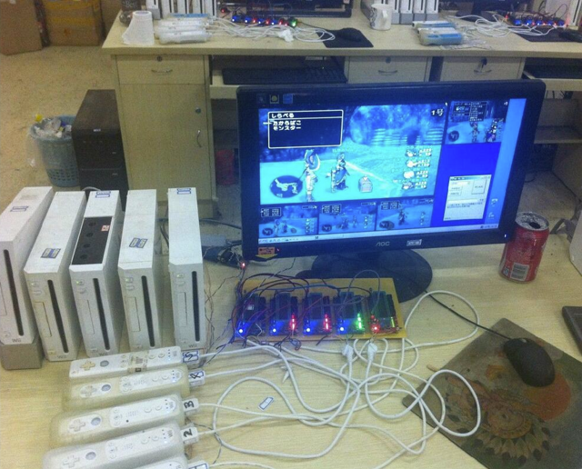 A Look Inside a Wii Game Gold Farm