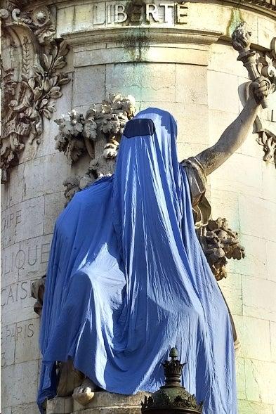 France's Hot New Self-Righteous Crime: Burqa Bashing