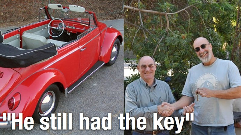 A touching story of a son reunited with his dad's long-lost Beetle