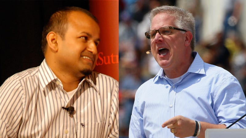 Glenn Beck Flees from Muslim-American Mogul