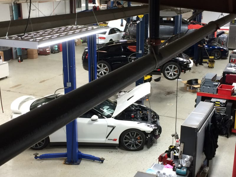 Hearses, GT-Rs And Turbo: Meet The Mad Scientists At AMS Manufacturing