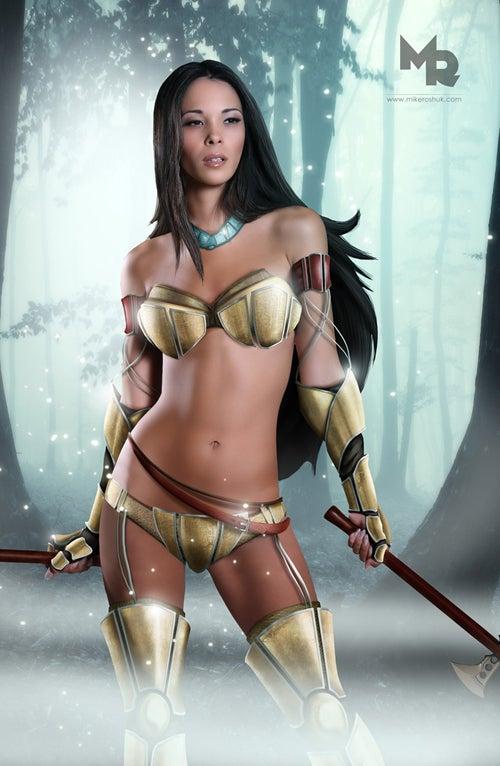"""""""Warrior"""" Disney Princesses"""