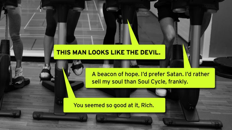 We Came, We Spun, We Dubstepped: Gawker Does SoulCycle