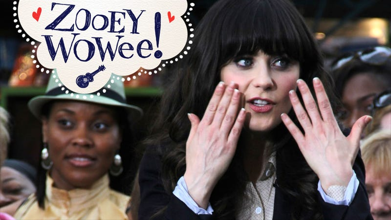 Zooey Deschanel Described as Sparkly