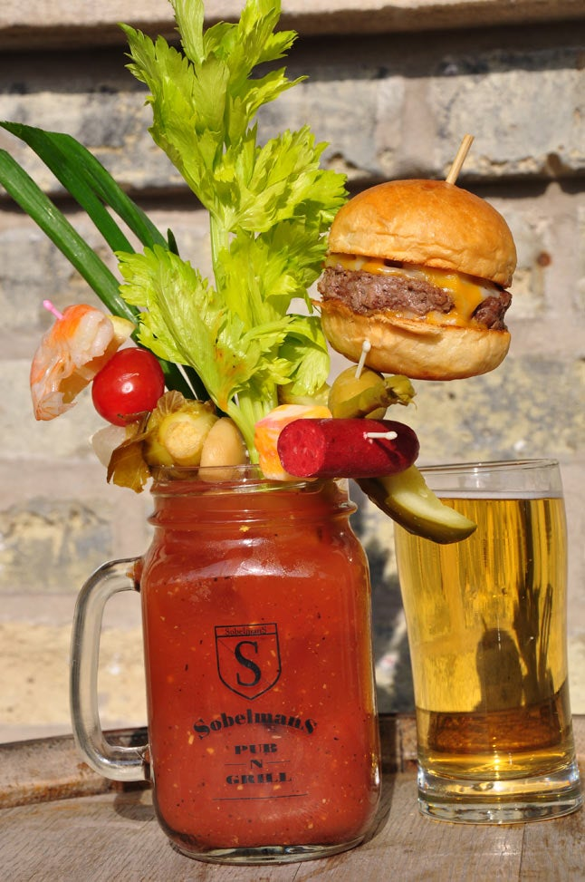 This is the most ridiculous Bloody Mary ever and I want it all