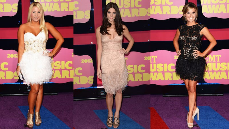 The Boots and Boobs of the CMT Music Awards