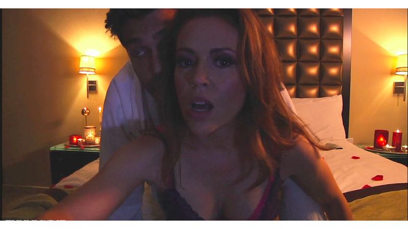Check Out Alyssa Milano's Educational Sex Tape