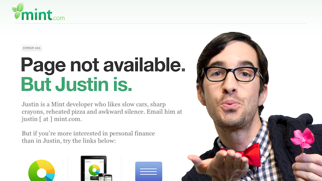 The Internet's Best 404 Error Pages
