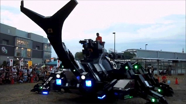 Oh, It's Just a 17-Ton Robotic Bug