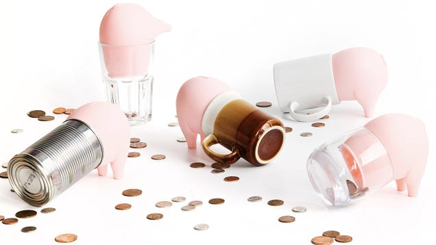 Rubber Swine Turns Anything Smashable Into a Piggy Bank