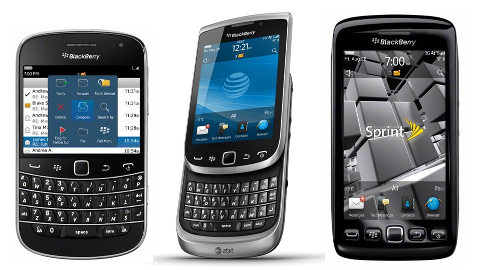 when was the first blackberry phone released
