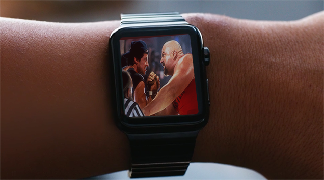 The First Game Announced For The Apple Watch Is... Arm Wrestling