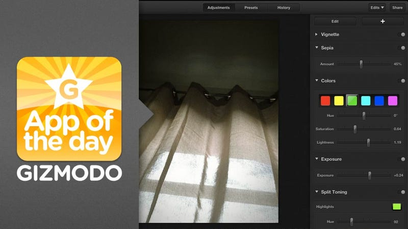 Luminance for iPad: Edit Photos on Your iPad Like a PRO