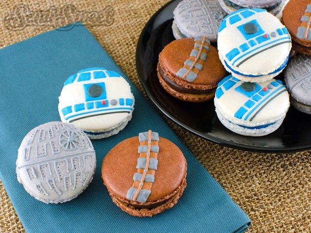 Star Wars Macarons Prove the Force is Delicious