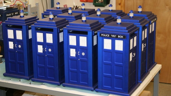 This TARDIS Case is Not Actually Bigger on the Inside