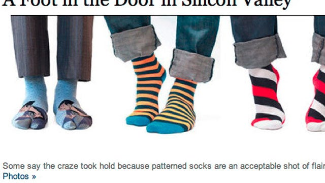Tech Dorks Are Secretly Wearing Amazing Socks