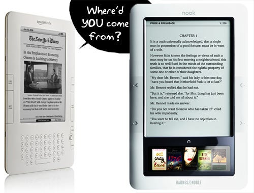 Barnes & Noble Compares Nook to Kindle 2: Biased But Fair