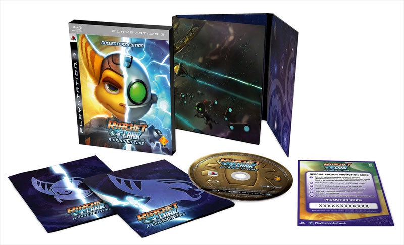 Europe Gets Ratchet & Clank: A Crack In Time Collector's Edition, Wins This Time