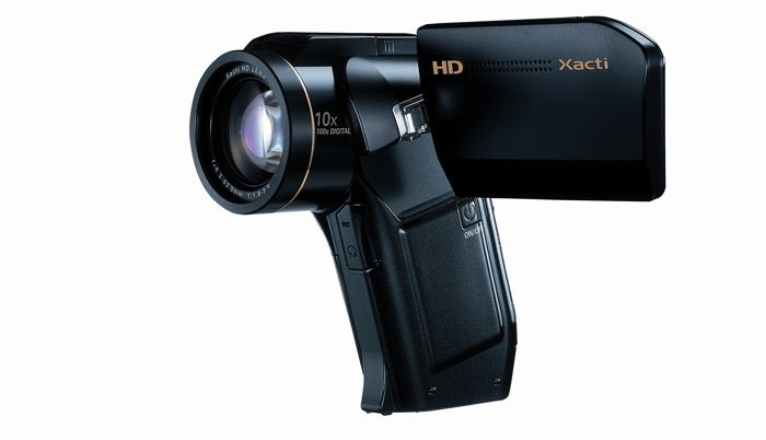 Sanyo Xacti HD1010 Camcorder does 1080i, Face Recognition and 300FPS Slow Motion