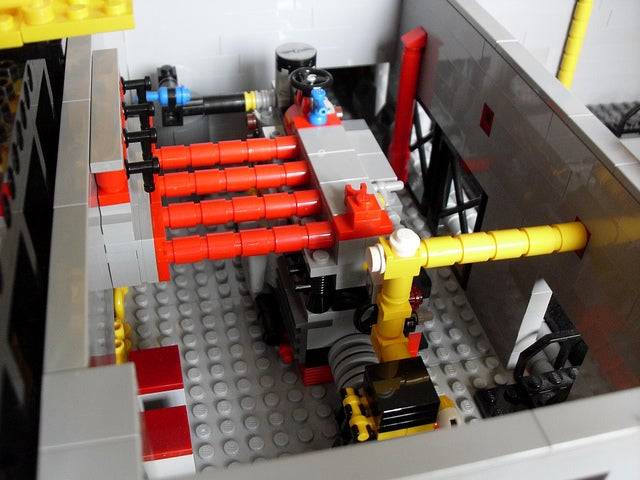 This Magnificently Detailed Lego Oil Rig Will Be Spitting Brick Gold in No Time