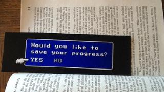 <em>Final Fantasy</em>-Inspired Bookmark