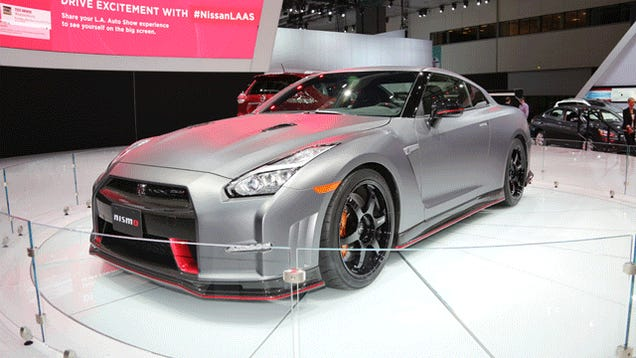Here's The Nissan GT-R Nismo In 360 View