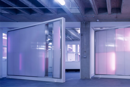 Office in an Ice Vault